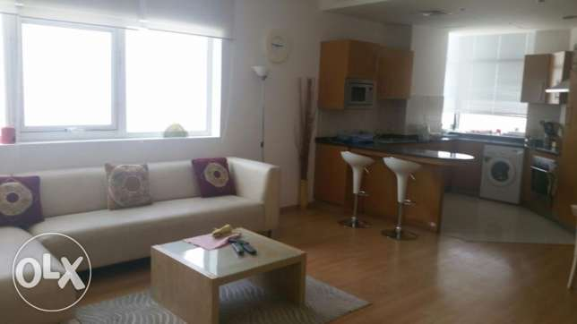 1 Bedroom Modern Chic Furnished High Rise with Balcony in Seef Area