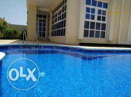 Hamala modern 4 Bedroom semi furnished villa with pool - all inclusive