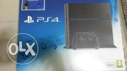 PS4 Black Mate