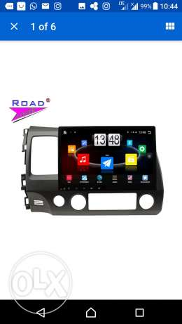 For sale 10.1 inches android screen for honda civic 2006 to 2011