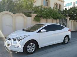 2014 Hyundai Elantra 1.8L Bahraini vehicle, 100% Accident free