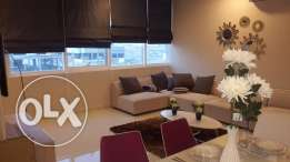 Brand new 2 Br flat in Janabiya, Balcony