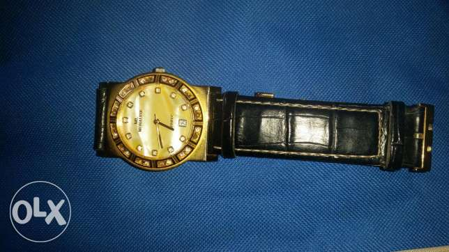 Watch 22k gold very nice working