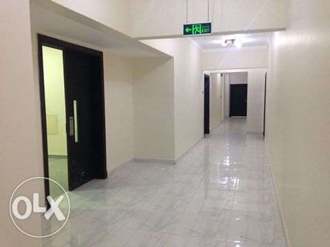 brand new building unfurnished 2 bedrooms flat