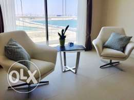 brand new One bedrooms apartment for rent in Amwaj -Island.