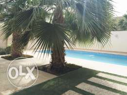 Semi Furnished Villas in Hamala. Private swimming pool and Garden