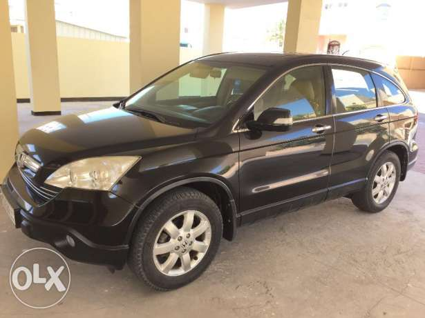 2008 Honda CRV Black, Full Options for Sale 81000 Kms