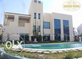 Hamala modern 4 BR semi furnished villa for rent close to Causeway inc