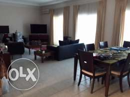 4 Bedroom semi furnished villa with large private pool,yard,garden