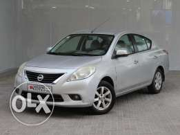 Nissan Sunny 2013 Silver For Sale