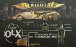 Ultimate golden wings garage