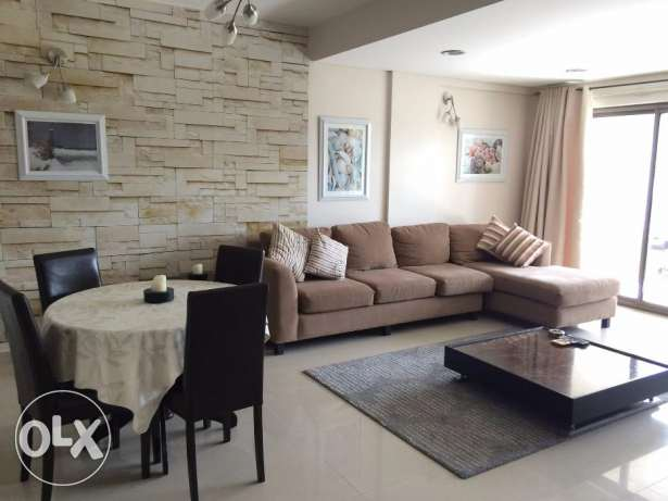 Garden Views 1 Bedroom modern furnished apartment with huge balcony
