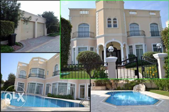 Luxury 5 Bedroom semi furnished villa with pool and facilities